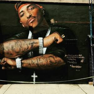 Prodigy's Mural Defaced… Again